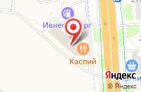 Схема проезда до компании Каспий в Иваново