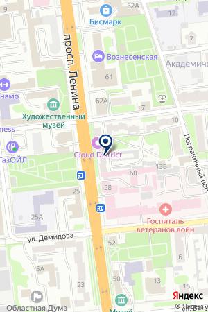 АПТЕКА АНДРОВИТ на карте Иваново