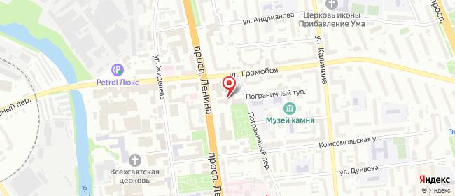 Карта расположения пункта доставки СИТИЛИНК в городе Иваново