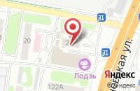 Схема проезда до компании Золотое Руно в Иваново