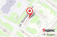 Схема проезда до компании Ника в Иваново