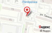 Схема проезда до компании Семь пятниц в Иваново