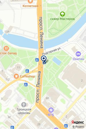 АДВОКАТСКИЙ КАБИНЕТ ХЛЕБНИКОВА С.В. на карте Иваново