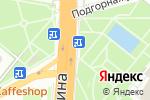 Схема проезда до компании Ваш сад в Конохово
