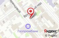 Схема проезда до компании Спутник в Иваново