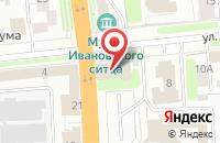 Схема проезда до компании Музей промышленности и искусства в Иваново