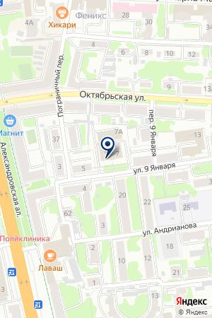 АВТОШКОЛА АВТОСТАРТ на карте Иваново