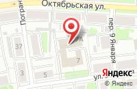 Схема проезда до компании ТЕХПРОМ в Иваново