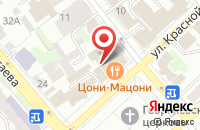 Схема проезда до компании Техснабторг в Иваново
