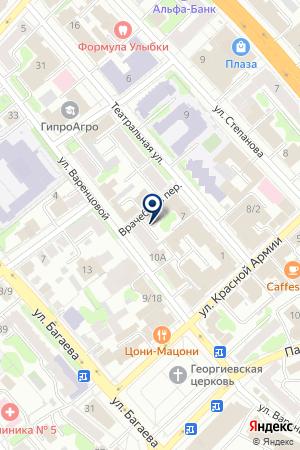 ПРОКУРАТУРА ФРУНЗЕНСКОГО РАЙОНА Г.ИВАНОВО на карте Иваново