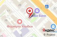 Схема проезда до компании Интер-Техника-Плюс в Иваново