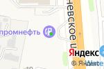 Схема проезда до компании Газпромнефть в Коляново