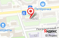 Схема проезда до компании Почтовое отделение №2 в Иваново