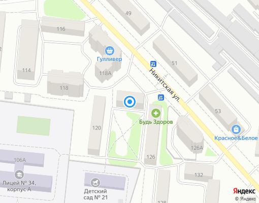 Управляющая компания «Ремжилстрой+» на карте Костромы