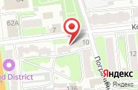 Схема проезда до компании Мебель Арт в Иваново