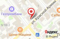 Схема проезда до компании Александрия в Иваново