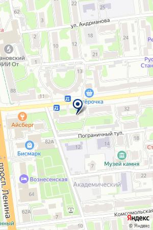 КОЛЛЕГИЯ АДВОКАТОВ ТРАВИН И ПАРТНЕРЫ на карте Иваново