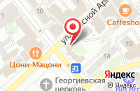 Схема проезда до компании IMatik в Иваново