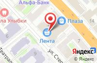 Схема проезда до компании ДНС в Иваново