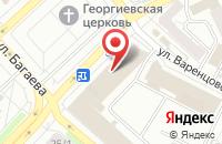 Схема проезда до компании Молния в Иваново
