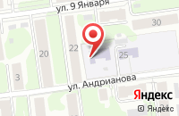 Схема проезда до компании Детский сад №99 в Иваново