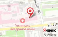 Схема проезда до компании Авиценна в Иваново