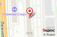 Схема проезда до компании Орматек в Иваново