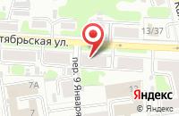 Схема проезда до компании ACE в Иваново