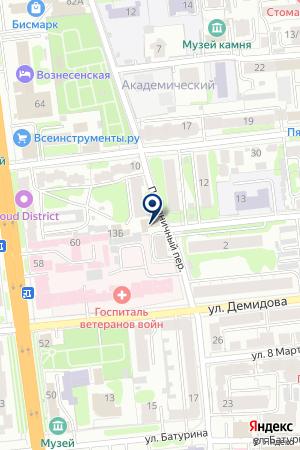АЗС ПЕТРОЛИУМ на карте Иваново