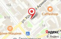Схема проезда до компании ИЗМК Импульс в Иваново