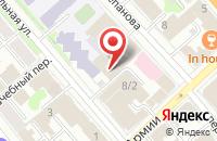 Схема проезда до компании Продуктовый магазин в Донском