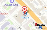 Схема проезда до компании Модистка в Иваново