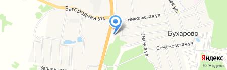 Первая на карте Бухарово
