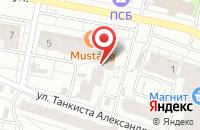 Схема проезда до компании Меберия в Иваново
