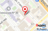 Схема проезда до компании МСТ в Иваново