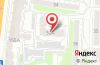 Схема проезда до компании Техдеталь-М в Иваново