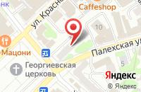 Схема проезда до компании Ив-Санрайз в Иваново