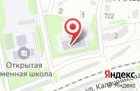 Схема проезда до компании Детский сад №104 в Иваново