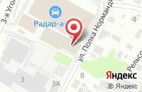 Схема проезда до компании Ивтехмаш-основа в Иваново
