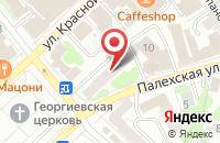 Схема проезда до компании Орто-комфорт в Иваново