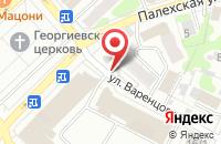 Схема проезда до компании Ани в Иваново
