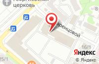 Схема проезда до компании Полет в Иваново
