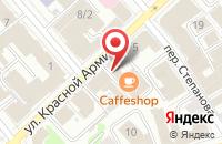 Схема проезда до компании Ярослава в Иваново