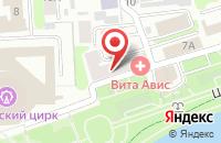 Схема проезда до компании Вита Авис в Иваново