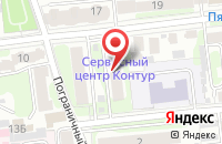 Схема проезда до компании Контур+ в Иваново