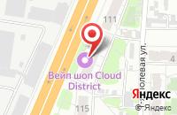 Схема проезда до компании Мона-Лиза в Иваново