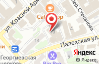 Схема проезда до компании Передовые насосные системы в Иваново