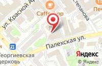 Схема проезда до компании Консультант в Иваново