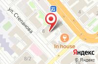 Схема проезда до компании Кухни от Андрея в Иваново