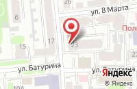 Схема проезда до компании MANICCURE в Иваново